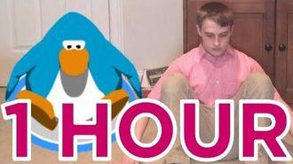 Doing the club penguin dance (1 Hour Version)