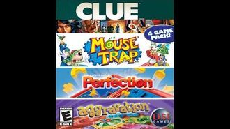 Mouse Trap Theme - 4 in 1 - Clue, Mouse Trap, Perfection, Aggravation
