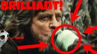 Why Luke's Green Alien Tiddy Milk Scene is Secretly Brilliant (The Last Jedi Analysis)