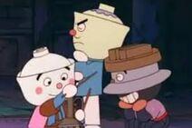The donburi trio