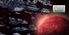 Fleet Colonization Comic