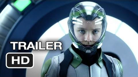 Ender's Game Official Trailer 2 (2013) - Asa Butterfield, Harrison Ford Movie HD