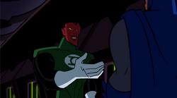 SinestroTrifftBatman
