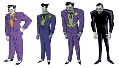 Joker animated evolution