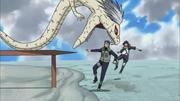 Kabuto entführt Yamato