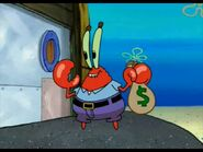Mr. krabs moneybag