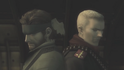 SnakeOcelot MGS3 Duell