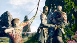 Baldur Kratos Atreus Kampf