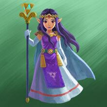 Princess Hilda Artwork