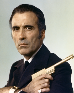 Christopher Lee als Francisco Scaramanga (1974)