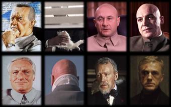 Blofeld 1961-2015 Portraits