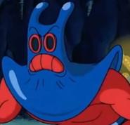 Mantarochen (Wütendes Starren)