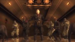 Ocelot MGS3 TunnelKonfrontation