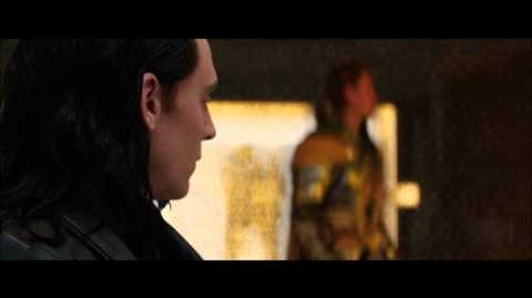 Loki Destroys his cell