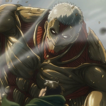 Armored Titan anime profile