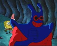 Mantarochen (Böses Grinsen)