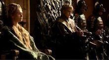 Cersei & Joffrey 1x07