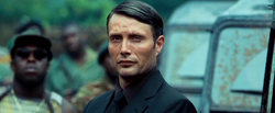 Le Chiffre in Afrika