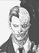 Two-face concept-art by rob bliss