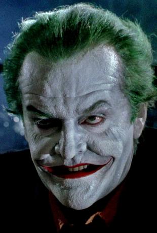 Jack Nicholson als 'Joker'
