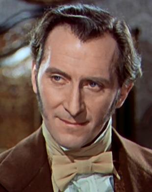 Peter Cushing als Baron Frankenstein (1957)