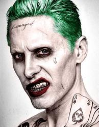 Joker suicide-squad portrait