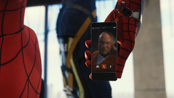SpidermanSprichtFisk