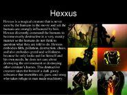 Hexxus' bio