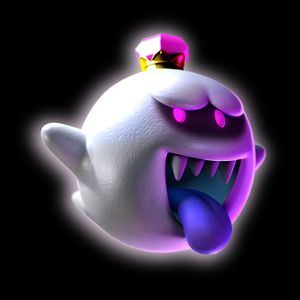 King Boo Luigi's Mansion Dark Moon