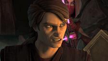Anakin angry