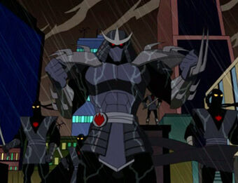 Utrom Shredder Antagonists Wiki Fandom