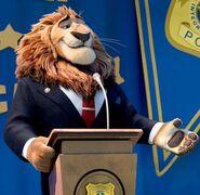 Mayor Lionheart Zootopia