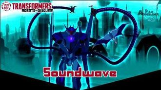 Transformers Robots in Disguise - Soundwave Ver.1