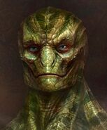 Reptilian humanoid