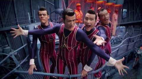 "We are number one but every ""hey"" is replaced with ""heil hitler"""