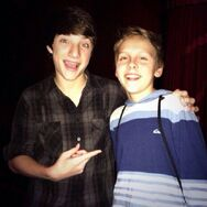 Jacob Bertrand and Jake Short