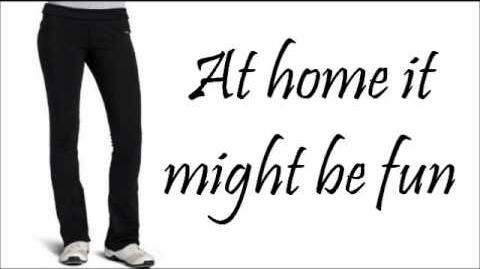 Chyna Parks - Wear Pants In Public (Ant Farm - Lyrics China Anne Mccalin)
