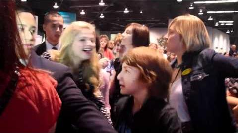 A.N.T. Farm Cast arriving for D23 Expo Cast Signing 2011