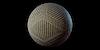 Tissu - étoffe froissée à hexagones du Dominion