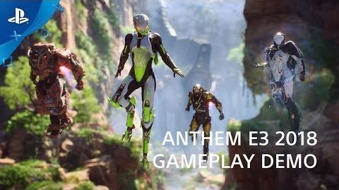 Anthem - PS4 Gameplay Preview PlayStation Live From E3 2018