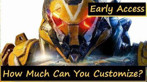 Anthem Javelin Customization and Emotes (Early Access)