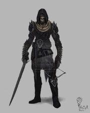 Drow Rogue by NezyrWorks