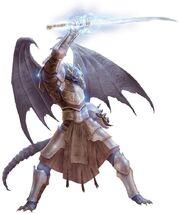 Lightning half dragon