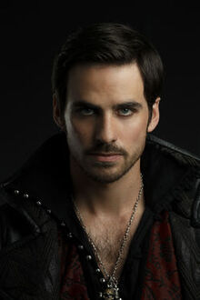 Captain Hook in Once Upon a time