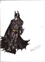 Batman Arkham Asylum, City character portrait - Batman