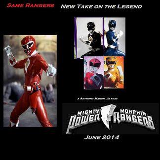 MMPR reboot teaser poster