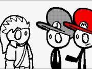 Mario,luigi and link talk