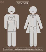 Gender lines