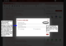 How-To Adding Link to Your Page