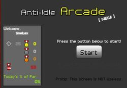 AI Arcade Screen